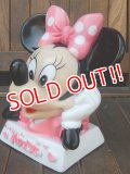 ct-170901-68 Minnie Mouse / 1980's Bust Up Coin Bank