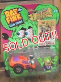 "ct-171001-34 RAT FINK / Kenner 1990's RAD RODS ""Rockin' Roadster"""