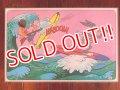 "ct-171001-17 Looney Tunes / PEPSI 1976 Place Mat ""Bugs Bunny & Elmer Fudd"""