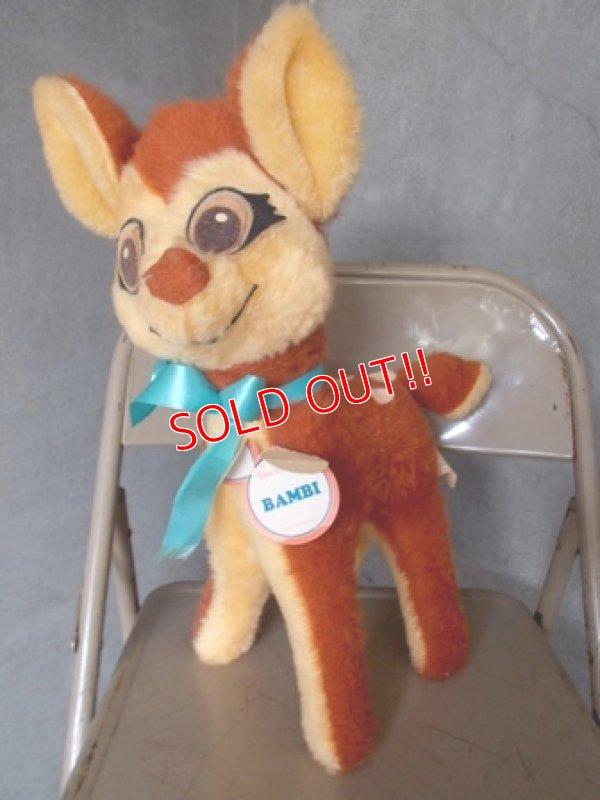 画像1: ct-120925-05 Bambi / 70's Plush doll