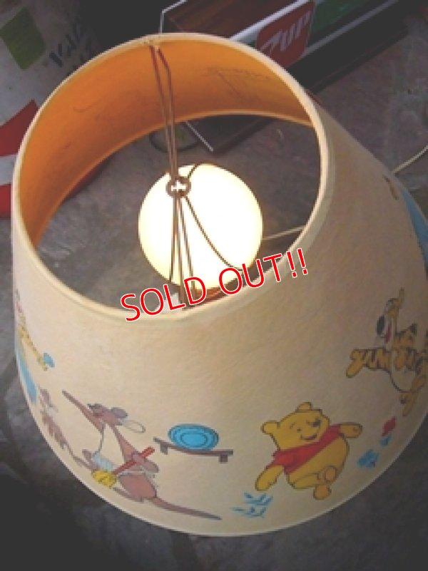 画像4: ct-110110-04 Winnie the Pooh / Vintage Desk Lamp