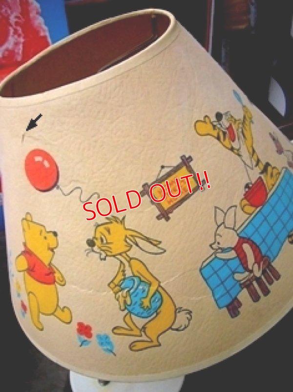 画像3: ct-110110-04 Winnie the Pooh / Vintage Desk Lamp