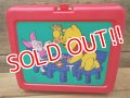 ct-120717-08 Winnie the Pooh / Thermos 90's Plastic Lunchbox