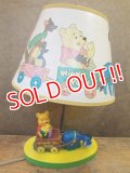 ct-121120-04 Winnie the Pooh / Dolly Toy 70's Nursery Light