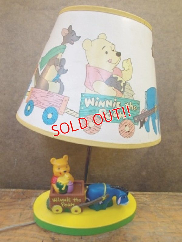 画像1: ct-121120-04 Winnie the Pooh / Dolly Toy 70's Nursery Light