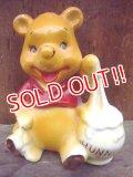 ct-120222-09 Winnie the Pooh / 70's ceramic figure