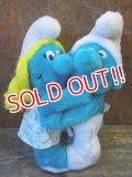 ct-130129-05 Smurf & Smurfette / 80's Plush doll