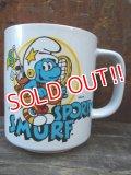 gs-130109-01 Smurf / 80's Sporty Smurf Ceramic mug