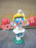 "ct-110809-03 Smurfette / PVC ""Cheer Leaderl"" #20149"
