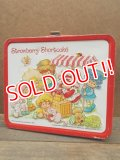 ct-121107-04 Strawberry Shortcake / Araddin 80's Metal Lunchbox