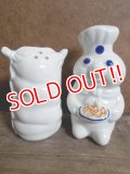 ct-121010-42 Pillsbury / Poppin Fresh 90's Ceramic S&P