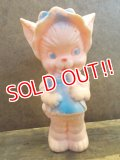 t-121023-03 Sun Rubber / Ruth E Newton 50's Cat squeaky doll