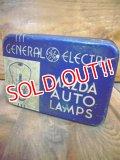 dp-110112-08 General Electric / MAZDA AOUT LAMPS Tin case