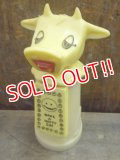 "kt-121225-04 Whirley / 60's-70's Moo-Cow Creamer ""Have a Happy Day"""