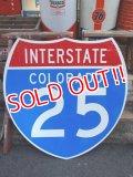 "dp-120410-15 INTERSTATE Sign ""COLORADO 25"""