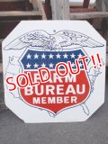 dp-130307-01 FARM BUREAU MEMBER / 1964 W-side metal sign