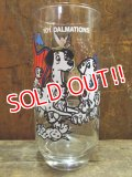 gs-130204-12 101 Dalmations / PEPSI 70's Wonderful World series glass