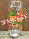 gs-130204-13 Lady and the Tramp / PEPSI 70's Wonderful World series glass
