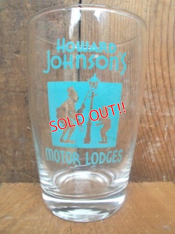画像1: gs-120804-01 Howard Johnson / Vintage Glass