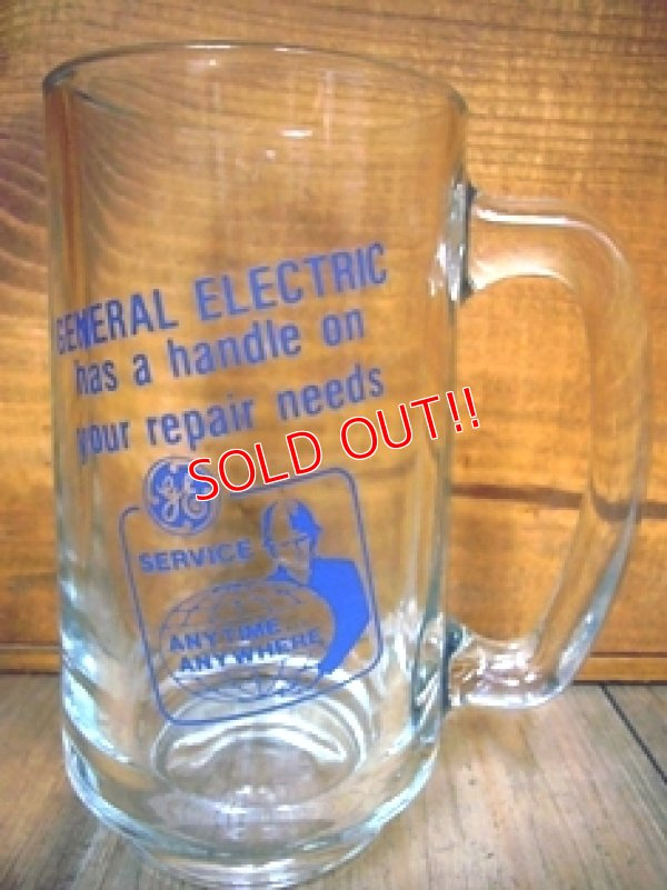 画像1: gs-110405-04 General Electric / 70's-80's Advertising Beer Mug