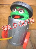 fp-101013-01 Oscar the Grouch / 70's Pop Up Toy