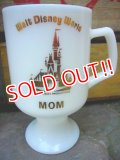 "gs-110906-06 Walt Disney World / ""MOM"" footed mug"