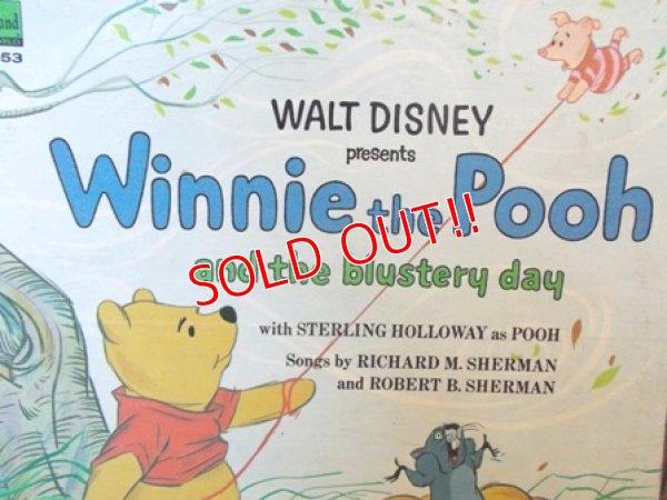 """画像1: ct-121127-17 Winnie the Pooh / 60's """"Pooh and the blustery day"""" Record"""