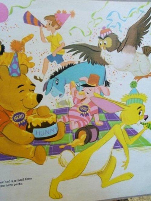 """他の写真1: ct-121127-17 Winnie the Pooh / 60's """"Pooh and the blustery day"""" Record"""