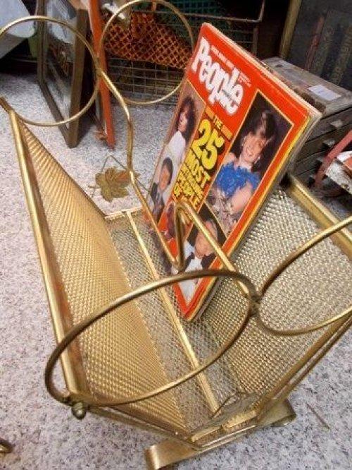 他の写真3: dp-130107-10 Vintage Magazine Rack