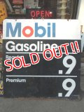 ct-130312-06 Mobil / 1971 Gas Station Metal Sign