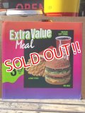 "ad-130521-01 McDonald's / 90's Translite ""Extra Value Meal"""