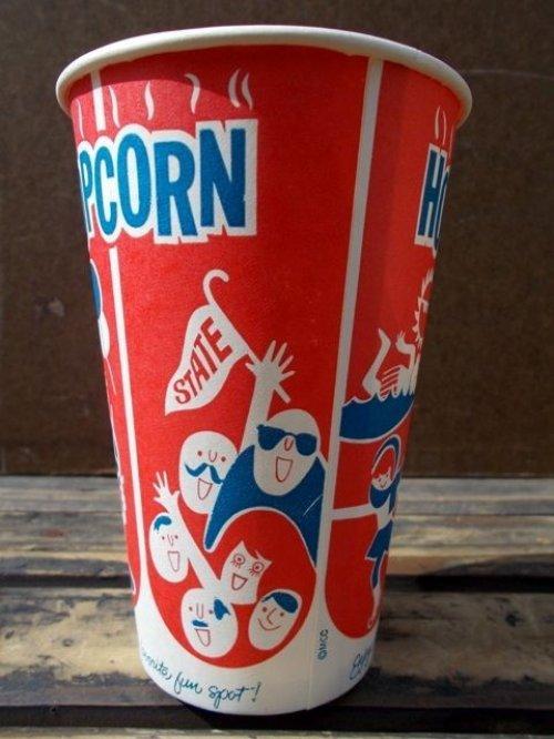 他の写真1: dp-130109-02 Vintage Hot Pop Corn Cup