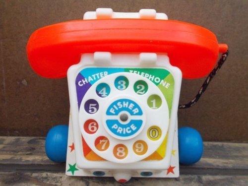 他の写真1: fp-130521-01 Fisher-Price / 1961 Chatter Telephone (Box) #747