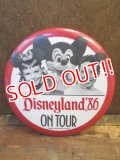 pb-100626-01 Disneyland '86 On Tour Pinback