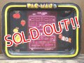 ct-130703-05 PAC MAN / 80's Kid's Tin Table