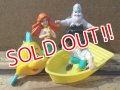 ct-130709-02 Little Mermaid / Mcdonald's 1989 Happy meal set
