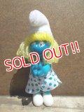 ct-130716-27  Smurfette / 80's Clip doll