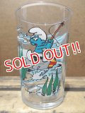 gs-130716-06 Smurf / IMP Benedictin 1993 glass