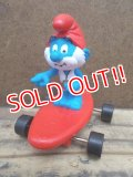 ct-130305-49 Papa Smurf / 90's Hardee's Meal Toy