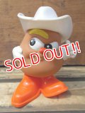 "ct-707-21 McDonald's / 1987 Meal Toy Potato Head Kids ""Spud"""