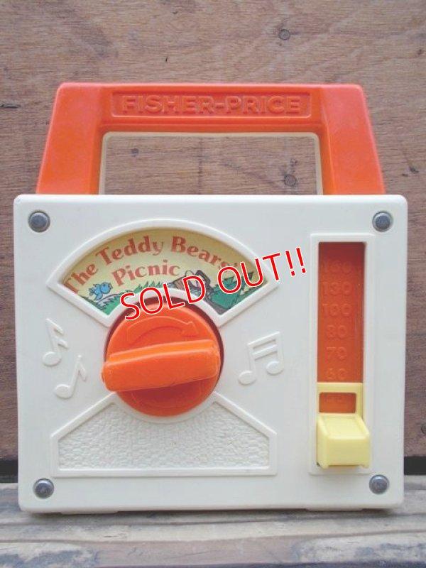 """画像1: fp-130416-05 Fisher-Price / 1979 Pocket Radio """"The Teddy Bear's Picnic"""" #792"""