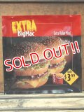 "dp-130521-01 McDonald's / 90's Translite ""Extra Big Mac"""