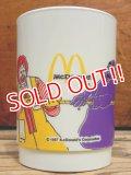 ct-130825-01 McDonald's / 80's Plastic cup