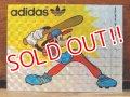 ad-821-17 Goofy × adidas / 70's Sticker (A)