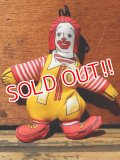ct-130901-01 Ronald McDonald / 80's mini cloth doll
