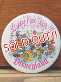 pb-909-06 Disneyland / 1989 Happy New Year Pinback