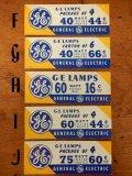 dp-425-02 General Electric / 50's Price tag