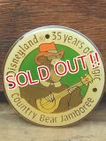 pb-909-10 Disneyland 35 years of magic Country Bear Jamboree / Zeke Pinback