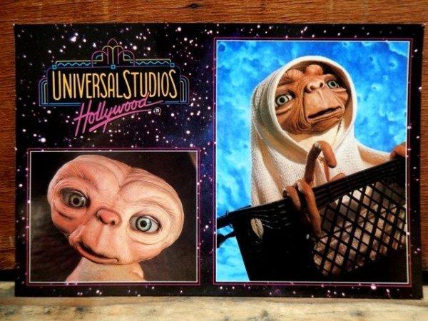 画像1: ct-130917-32 E.T. / Universal Studios Post Card