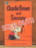 "bk-1001-05 PEANUTS / 1970 Comic ""Charlie Brown and Snoopy"""